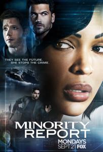 minority report serie affiche