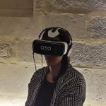 essai avec un casque Samsung Gear VR