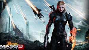 artwork promo du jeu Mass Effect 3