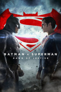 batman v superman ue affiche
