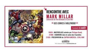Mark Millar affiche