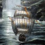 Didier Graffet A terre et mer fidèle (détail)