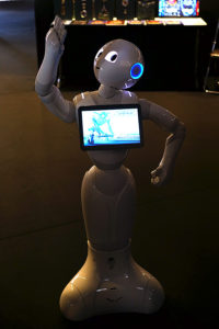 Utopiales 2016 Pepper le robot