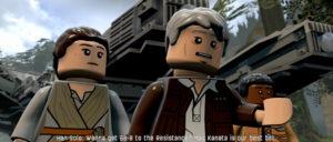 LEGO Star Wars: Le réveil de la Force Han Solo Rey