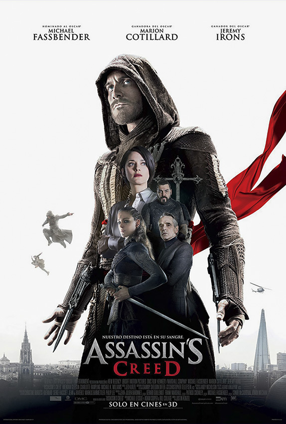 Assassin's Creed film affiche