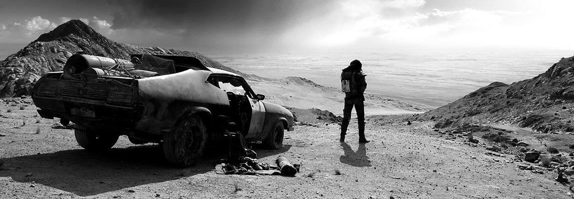 Mad Max : Fury Road - Black & Chrome, une édition nickel chrome !