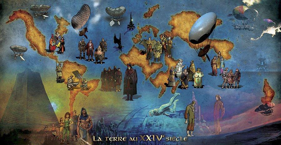 Illustrations : Etienne LE ROUX, Composition graphique : Stéphane GASSIN