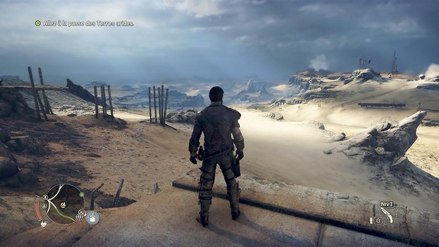 Mad Max le jeu - paysage