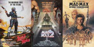 Mad Max trilogie affiche