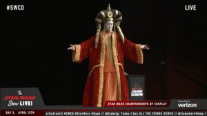 Star Wars Celebration - Cosplay Amidala