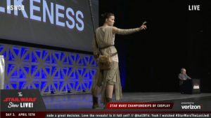 Star Wars Celebration - Cosplay Rey