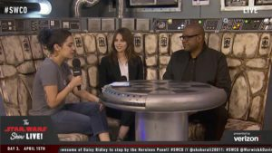 Star Wars Celebration - Felicity Jones et Forest Whitaker