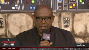 Star Wars Celebration - Forest Whitaker
