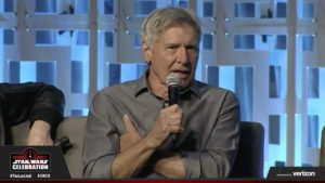Star Wars Celebration - Harrison Ford