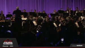 Star Wars Celebration - John Williams orchestre