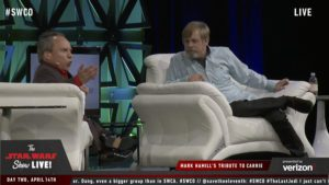 Star Wars Celebration - Mark Hamill et Warwick Davis