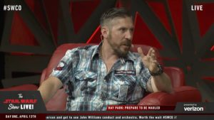 Star Wars Celebration - Ray Park