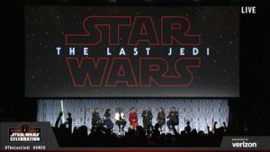 Star Wars The Last Jedi - Panel