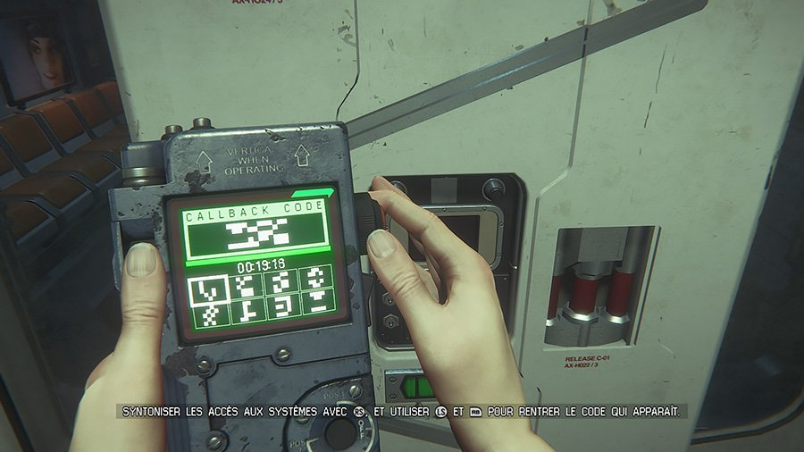 Alien Isolation - Hack