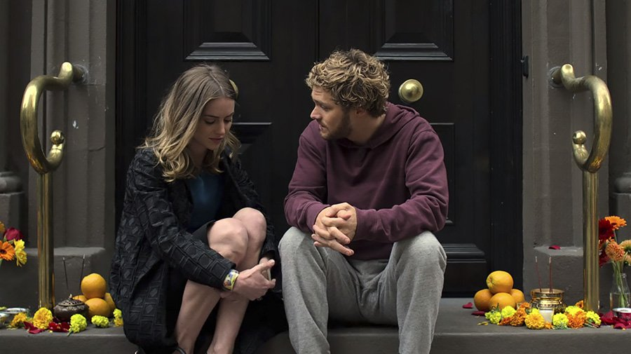 Marvel's Iron Fist - Jessica Stroup et Finn Jones