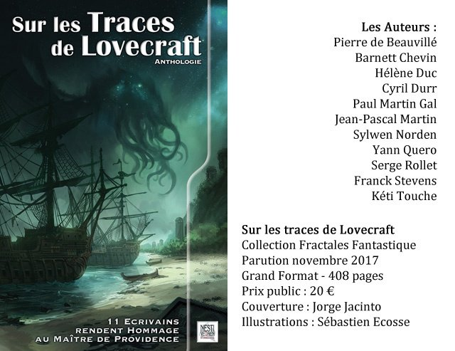 Sur les traces de Lovecraft - auteurs