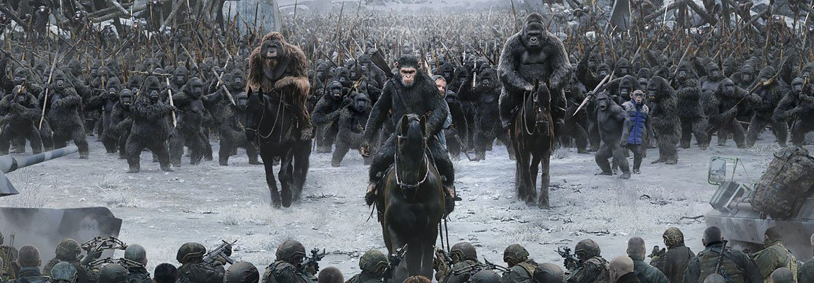 War for the Planet of the Apes – Le singe s'humanise !