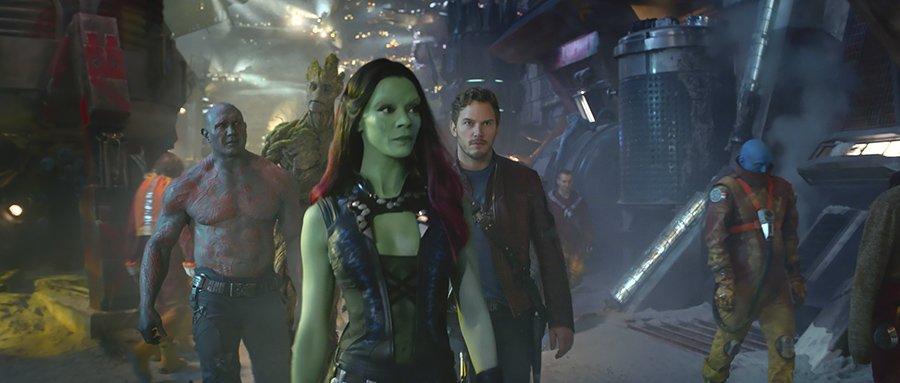 Les Gardiens de la Galaxie - équipe