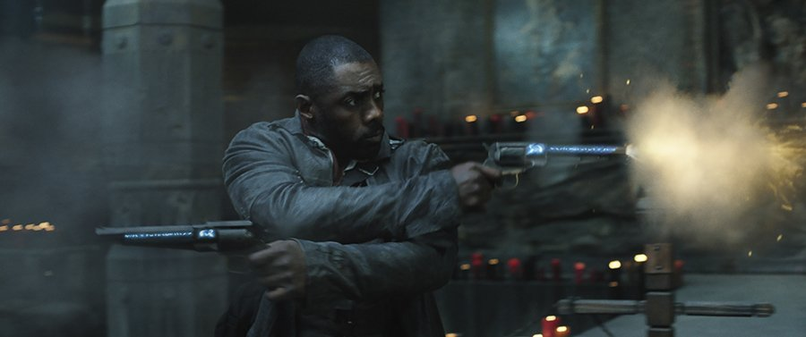 La Tour Sombre - gunfight (Idris Elba)