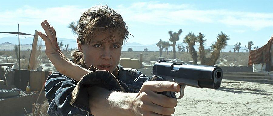 Terminator 2 3D - Sarah Connor (Linda Hamilton)