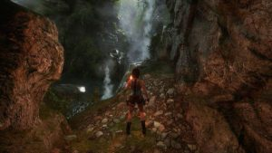 Tomb Raider The Dagger of Xian - Grottes