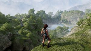 Tomb Raider The Dagger of Xian - Paysage