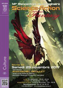 Les 14èmes Rencontres de l'imaginaire affiche - Illustration : Benjamin Carré