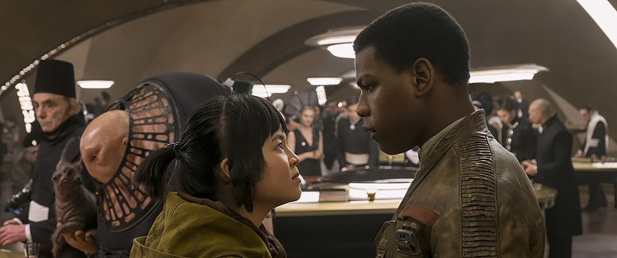 Star Wars The Last Jedi - Rose et Finn