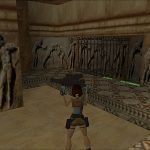 Tomb Raider 1 - Grèce cage