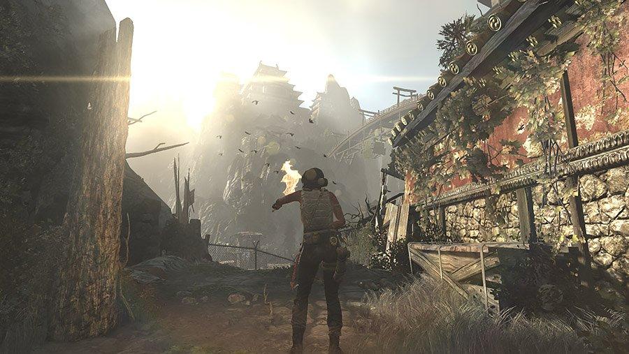 Tomb Raider (2013) - bidonville