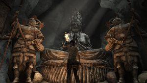 Tomb Raider (2013) - Statues