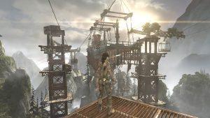 Tomb Raider (2013) - Téléphérique