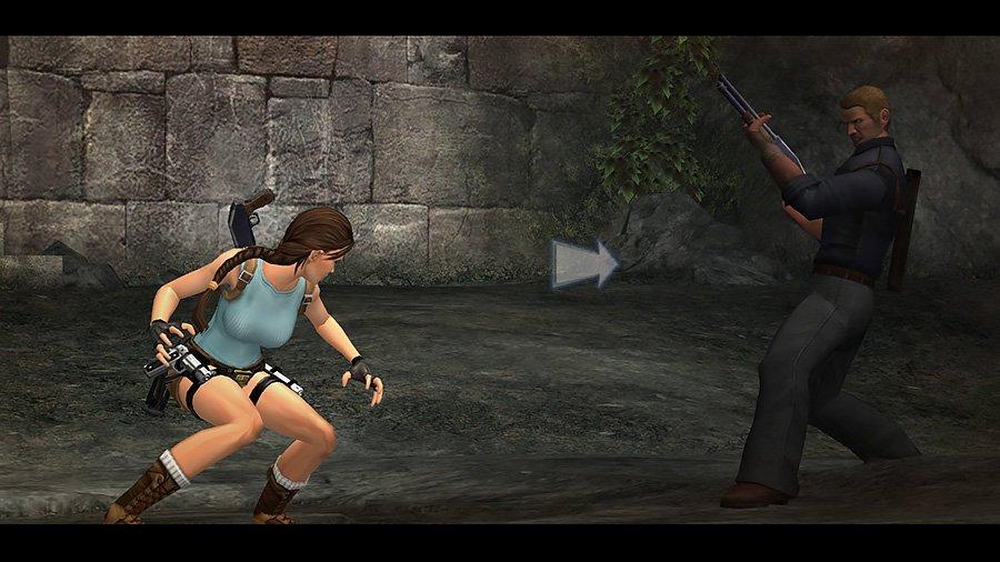 Tomb Raider Anniversary QTE
