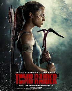 Tomb Raider film 2018 affiche