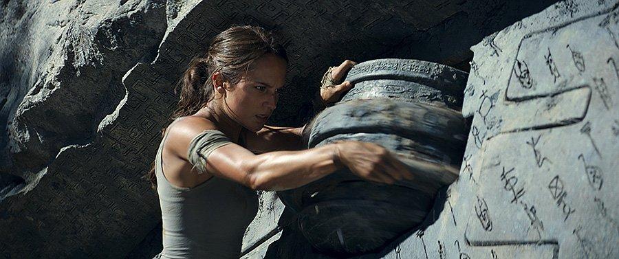 Tomb Raider film 2018 - Alicia Vikander
