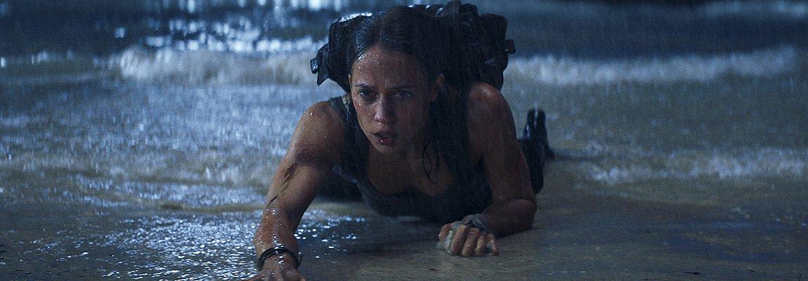 Tomb Raider – Lara Croft sort de l'eau !