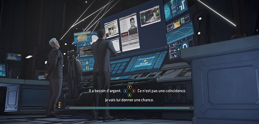 Batman The Telltale Series - Batcomputer