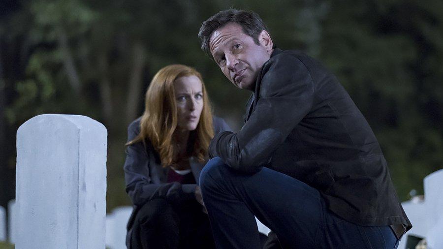 X Files saison 11 - Mulder et Scully