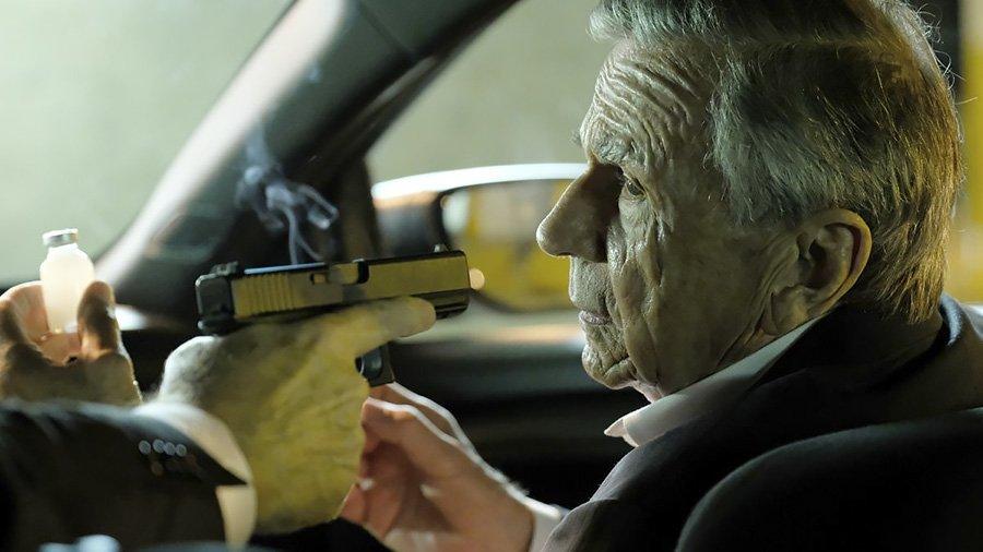 X Files saison 11 - Le smoking man