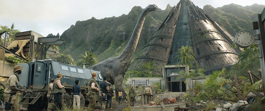 Jurassic World Fallen Kingdom - Brachiosaure