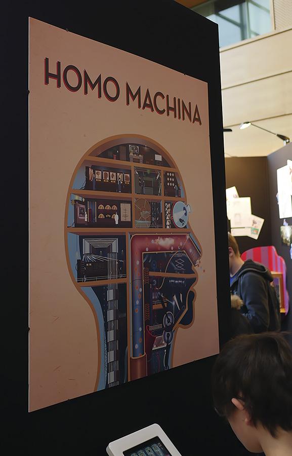 Utopiales 2018 Homo Machina