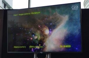 Utopiales 2018 Voyage au centre de la galaxie - Distances