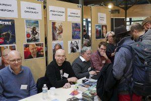 Les 15èmes Rencontres de l'imaginaire à Sèvres - Laurent Genefort, Lionel Davoust, jean-Claude Dunyach, Camille Leboulanger