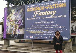 Les 15èmes Rencontres de l'imaginaire à Sèvres - Panneau
