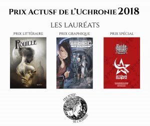 Les 15èmes Rencontres de l'imaginaire à Sèvres - prix ActuSF